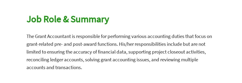 Free Grant Accountant Job Description Template 2.jpe
