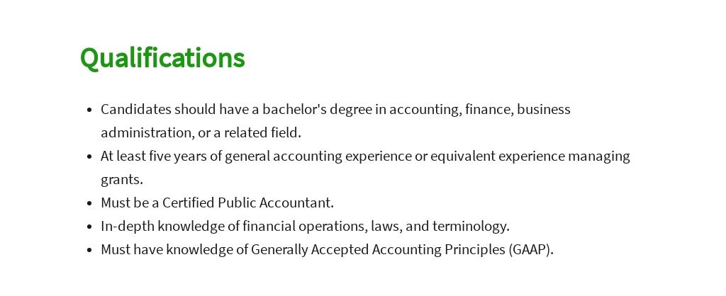 Free Grant Accountant Job Description Template 5.jpe