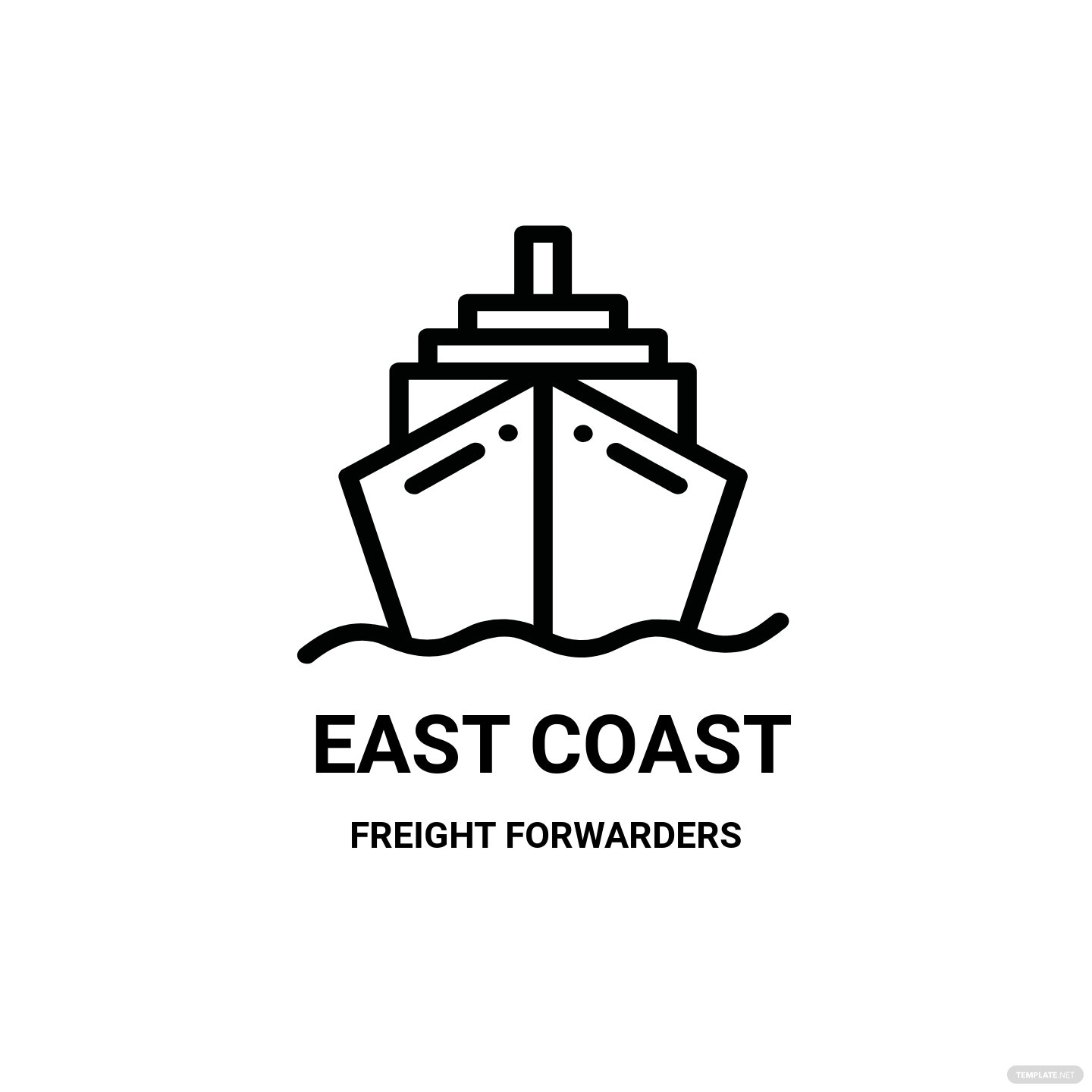 Shipping Logo Template