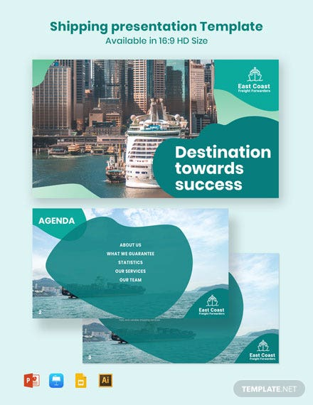 Shipping Presentation Template