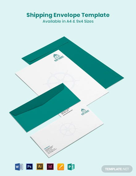 Shipping Envelope Template