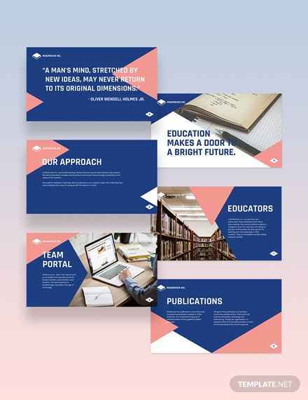 Simple Education Presentation Template