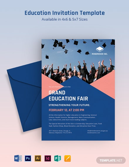 Education Invitation Template