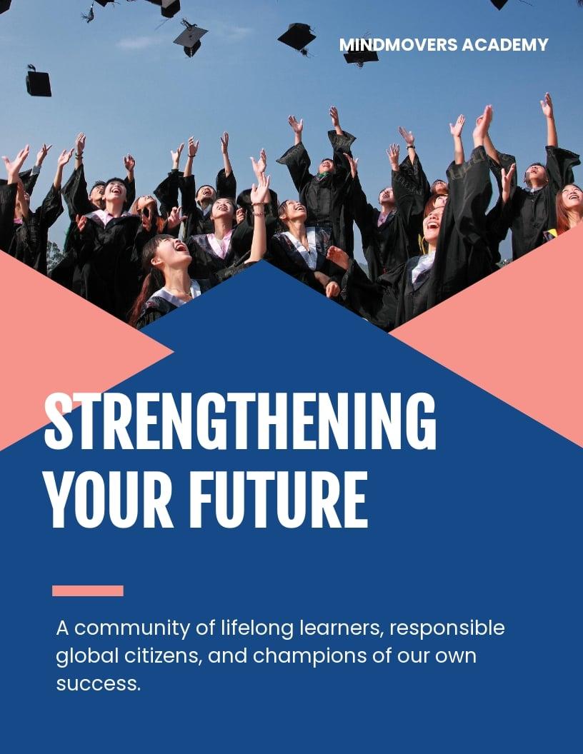 Education Leaflet Template