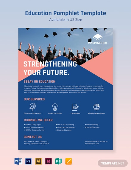 Education Pamphlet Template