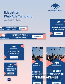 Education Web Ads Template