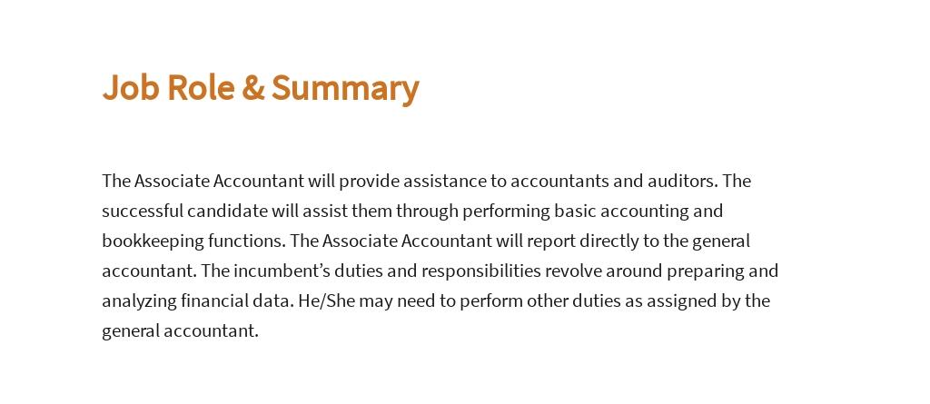 Free Associate Accountant Job Ad/Description Template 2.jpe