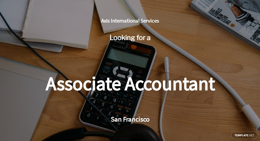 Free Associate Accountant Job Ad/Description Template.jpe