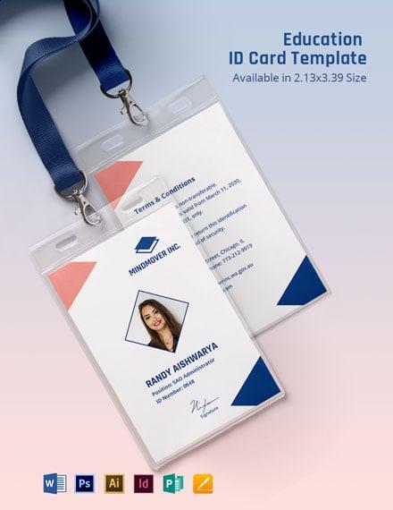 Education ID Card
