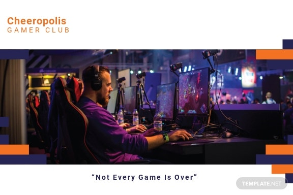 Gaming Company Postcard Template