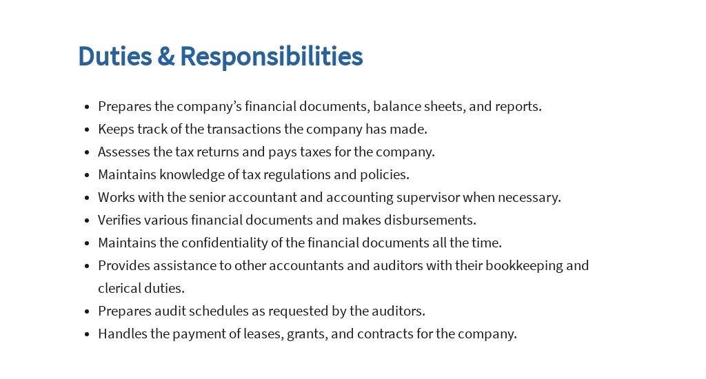 Free General Accountant Job Ad/Description Template 3.jpe