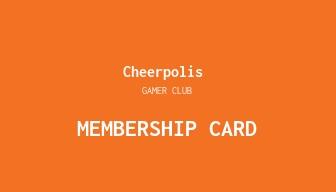 Gaming Company Membership Card Template