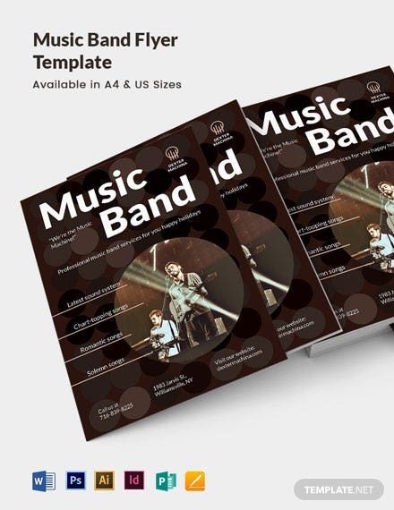 Music Band Flyer Template