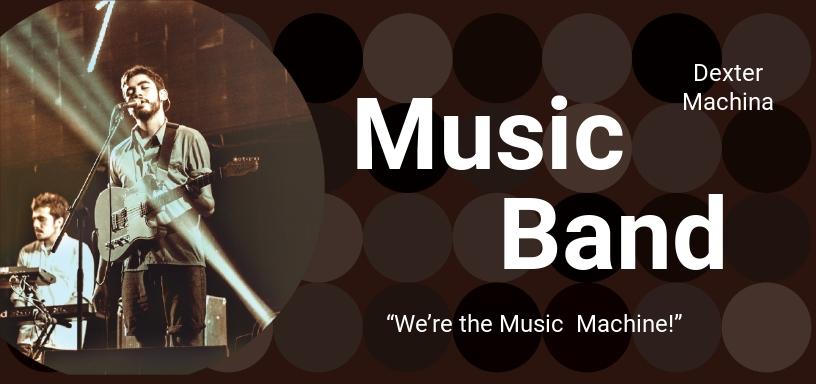 Music Band Voucher Template