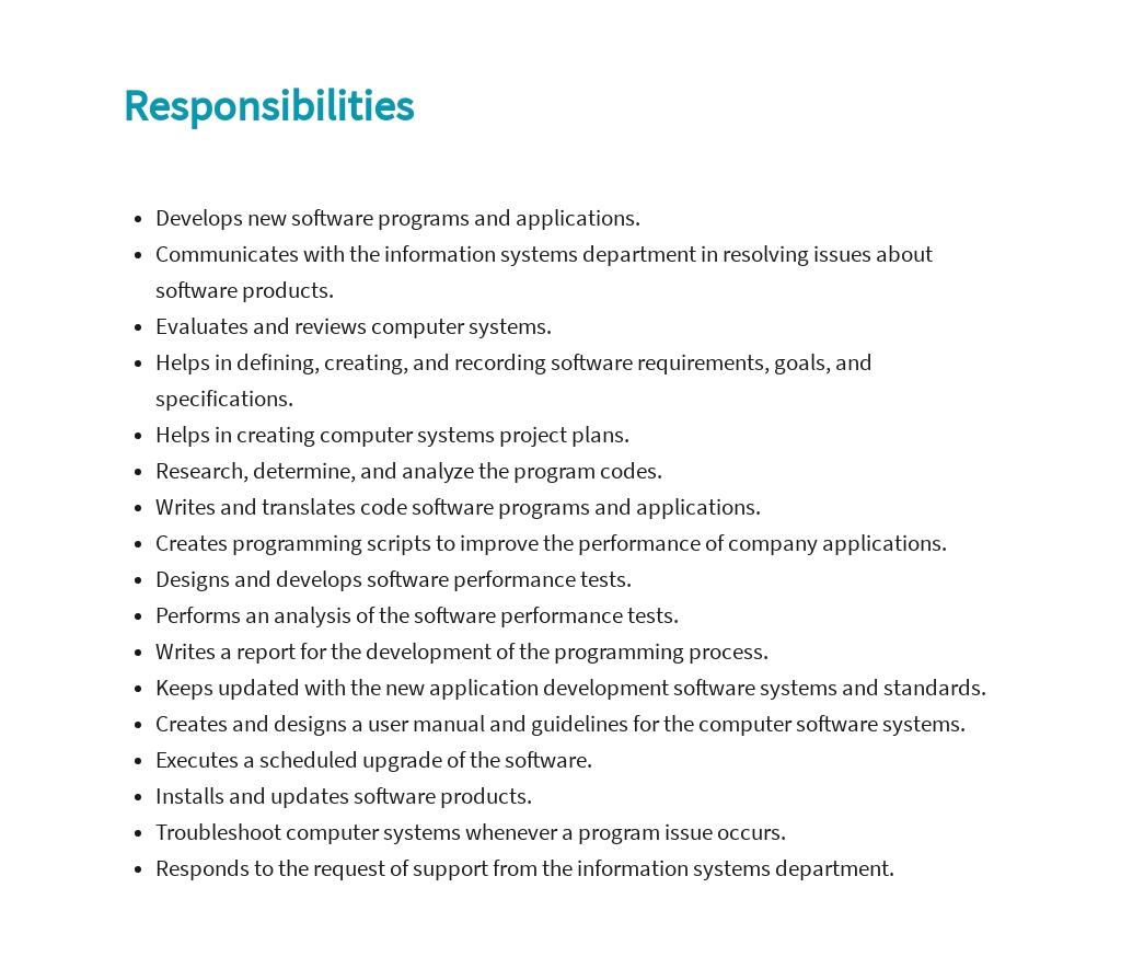 Free Computer Programmer Analyst Job Ad/Description Template 3.jpe