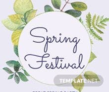 free spring flyer templates - Ukran.soochi.co