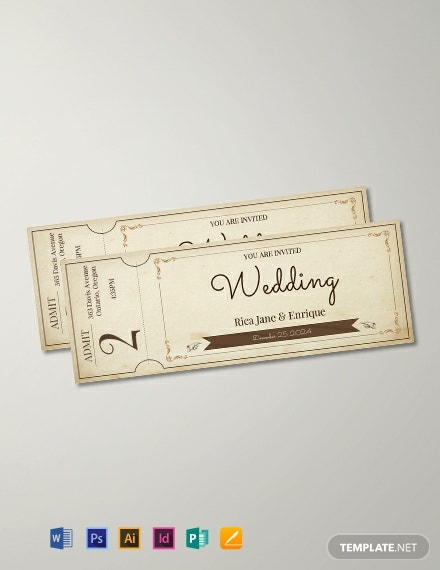 free vintage ticket template 440x570 1