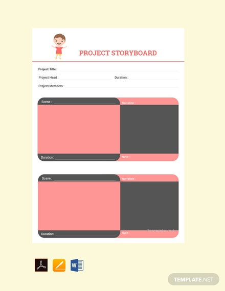 Free-Project-Storyboard-Template