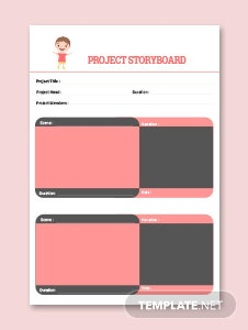 Project Storyboard Template