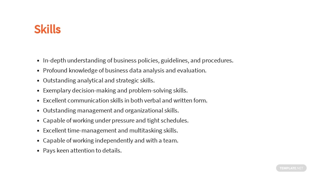 Free Business Analyst Project Manager Job Ad/Description Template 4.jpe