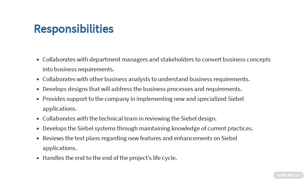 Free Siebel Business Analyst Job Ad/Description Template 3.jpe
