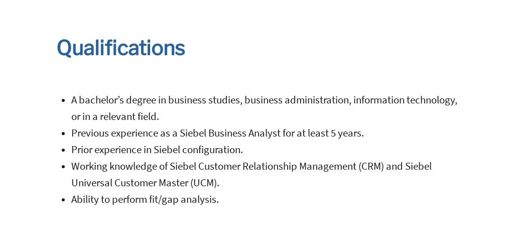 Free Siebel Business Analyst Job Ad/Description Template 5.jpe
