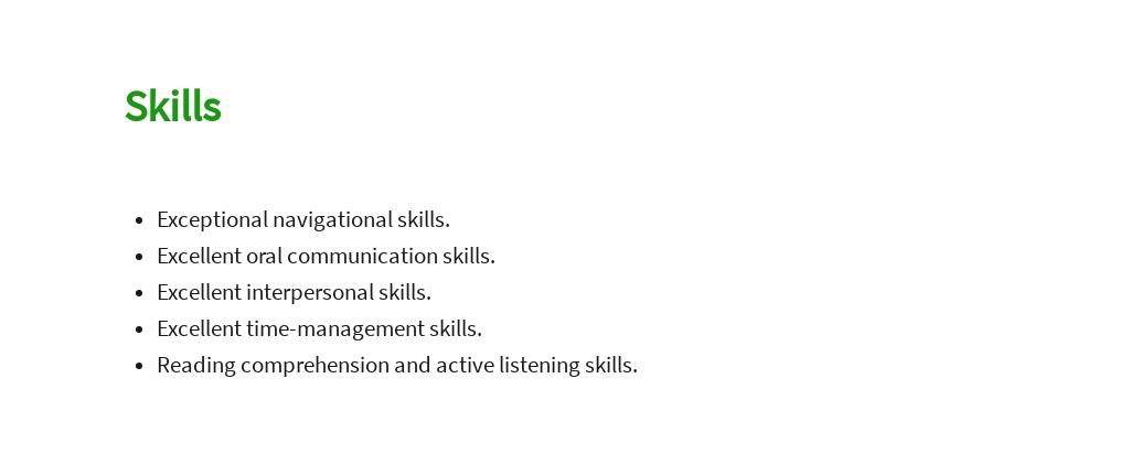 Free Professional Driver Job Description Template 4.jpe