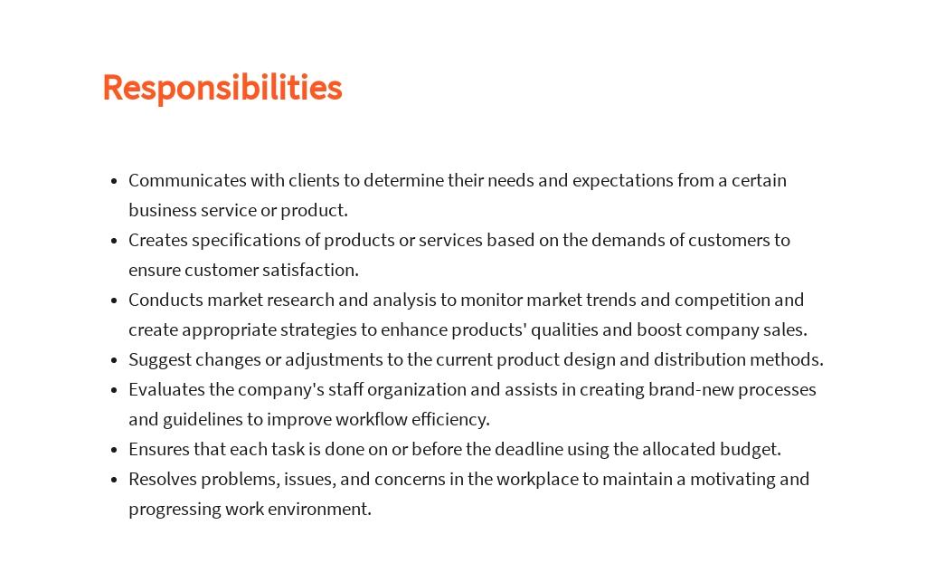 Free Associate Business Analyst Job Description Template 3.jpe