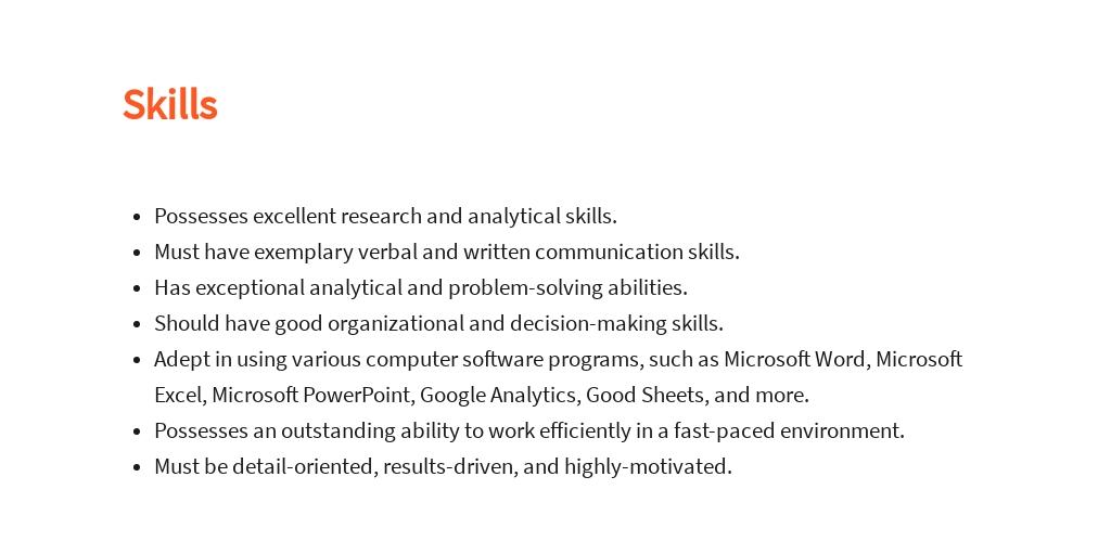 Free Associate Business Analyst Job Description Template 4.jpe