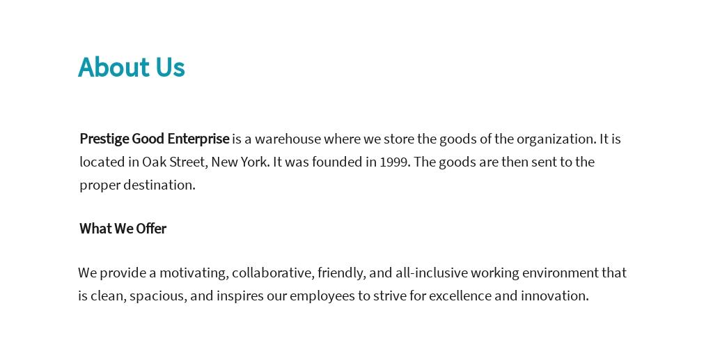 Free Data Warehousing Business Analyst Job Ad/Description Template 1.jpe