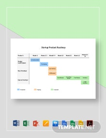 Startup Product Roadmap Template