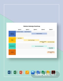 Website Redesign Roadmap Template