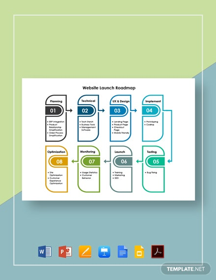 Website Launch Roadmap Template