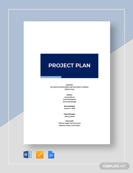 Basic Project Plan Template