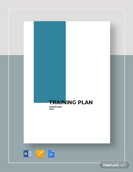 Blank Training Plan Template