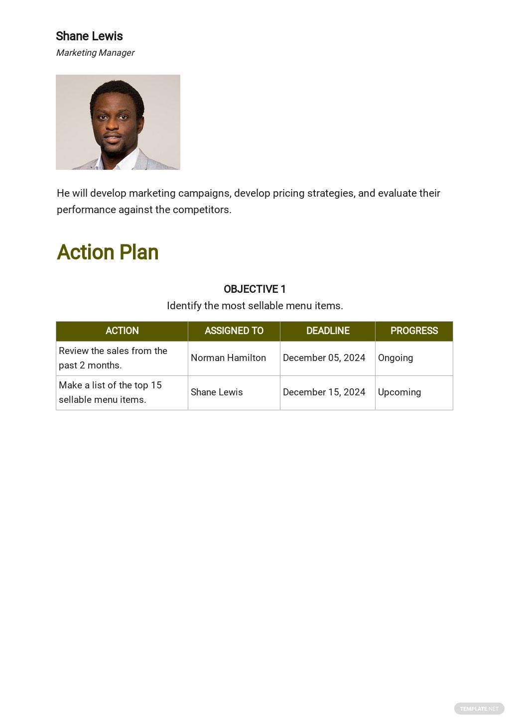 Catering Project Plan Template 3.jpe