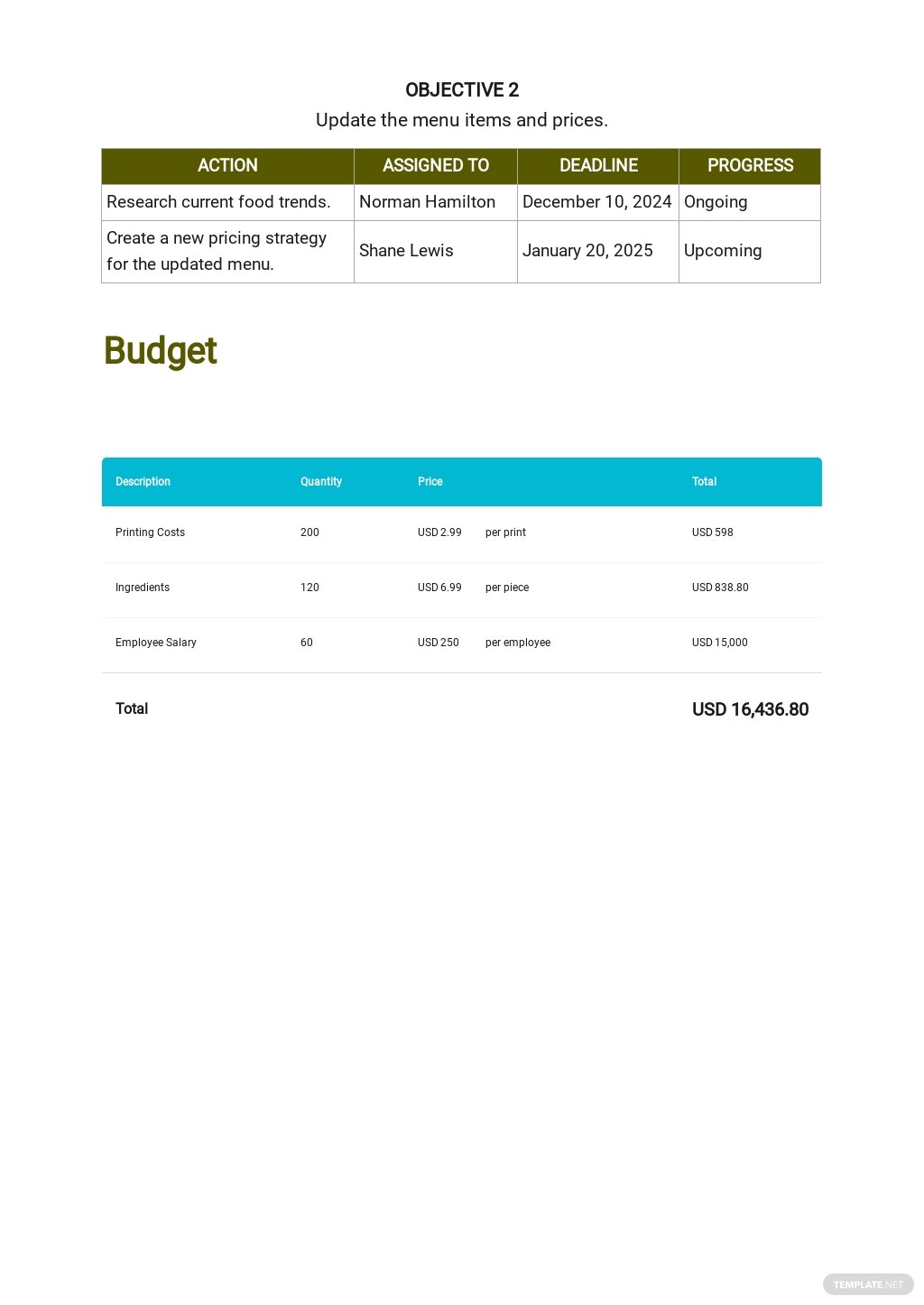 Catering Project Plan Template 4.jpe