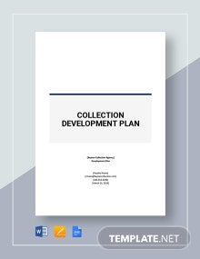 Collection Development Plan Template