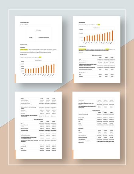 Basic Marketing Agency Business Development Plan