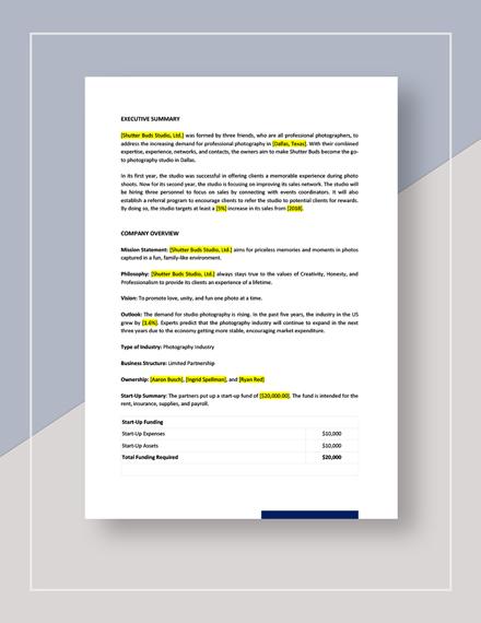 Network Sales Plan Download