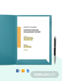 Construction Weekly Quality Report Template
