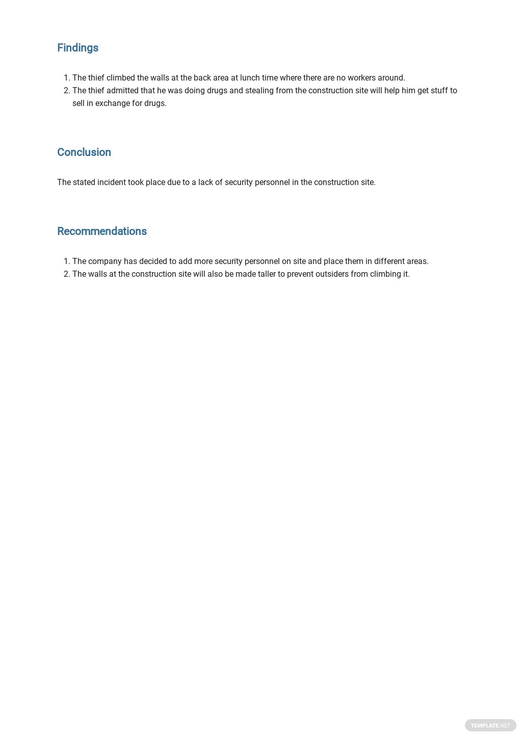 Construction Security Incident Report Template 2.jpe