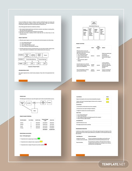 Simple Operational Plan Download