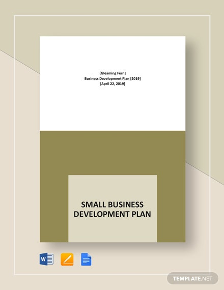Small Business Development Plan