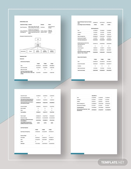 Simple Software  Development Plan