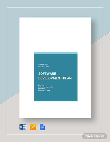 Software Development Development Plan Template