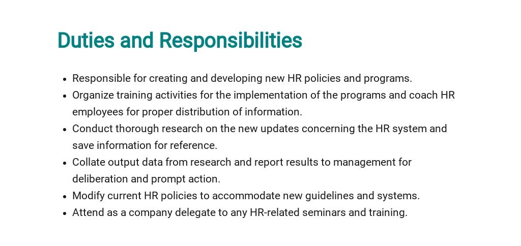 Free HR Project Manager Job Description Template 3.jpe