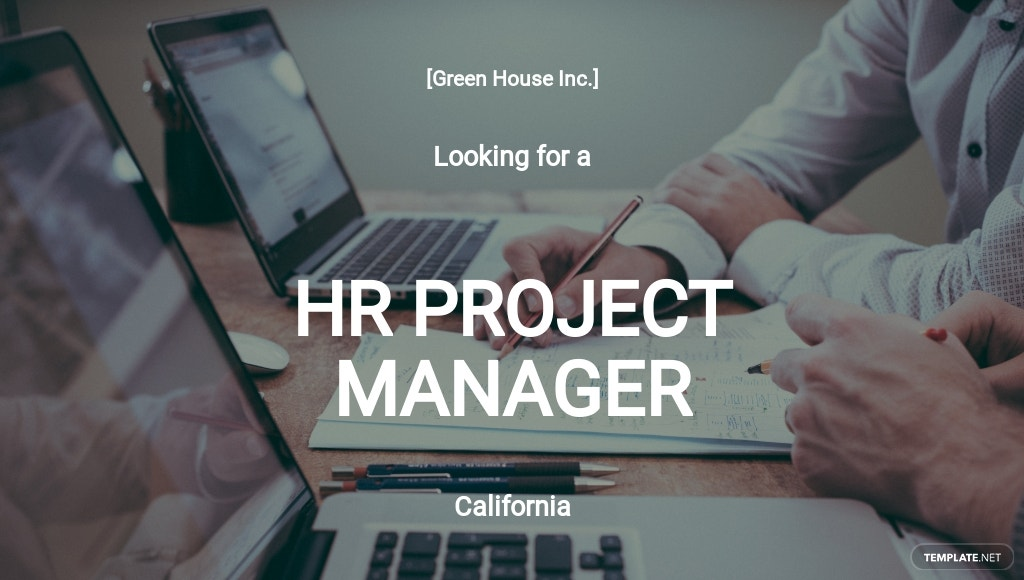 Free HR Project Manager Job Description Template.jpe