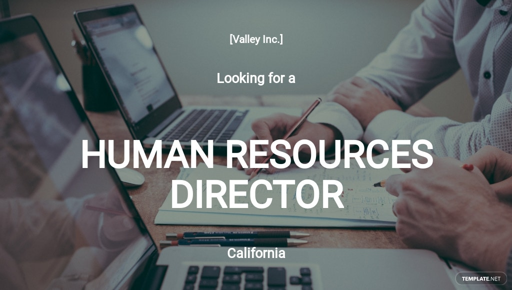 Human Resources Director Job Description Template