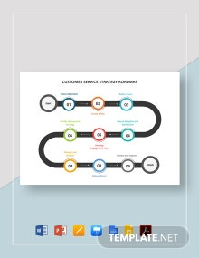 Customer Service Strategy Roadmap Template